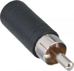 Adapter AV InLine Audio RCA męski - 3.5mm mono żeński (99325)