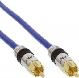 Kabel Intos RCA (Cinch) - RCA (Cinch) 20m niebieski (89820P)
