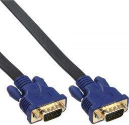 Kabel InLine D-Sub (VGA) - D-Sub (VGA), 10, Czarny Niebieski (17717F)