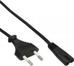 Kabel zasilający InLine Typ C Euro - EURO 8 męski 1m (16654H)