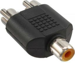 Adapter AV InLine Cinch na 2x Cinch (M/F) (99311)