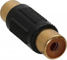 Adapter AV InLine Cinch na Cinch (F/F) Czarny (99315)