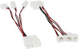 InLine Adapter wyciszający do trzech wentylatorów 12V - 5V (33005A)