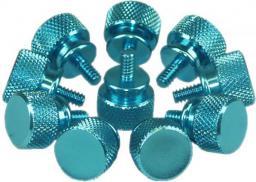 Narzędzia serwisowe InLine Śrubki do obudowy, niebieskie, 12mm - 10 szt. - 77770B