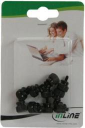 InLine Śrubki do obudowy, czarne, 12mm - 10 szt. - 77770S
