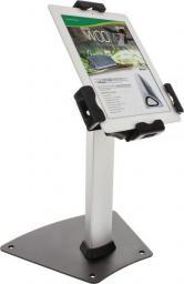 """Uchwyt InLine Mały stojak z zabezpieczeniem do tabletu - aluminiowy uniwersalne zastosowanie zamykany - od 7.9"""" - 10.1"""" (23166C)"""