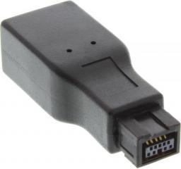 InLine Adapter FireWire 400/800 1394b 6-pin - 9-pin żeński - męski (34600A)
