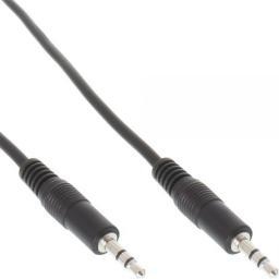 Kabel InLine MiniJack 3.5 mm - MiniJack 3.5 mm, 1.5, Czarny (99932)