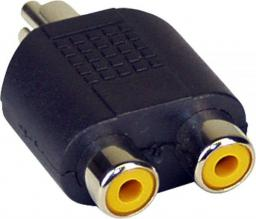 Adapter AV InLine Cinch męski - 2x Cinch żeński (99310)