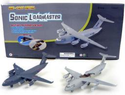 Hipo Samolot transportowy 22cm światło, dźwięk  - HXTT085