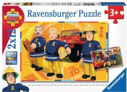 Ravensburger 2x12 Strażak Sam w akcji - 075843
