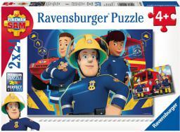 Ravensburger 2x24 Strażak Sam niesie pomoc - 090426