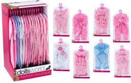 Dante Akcesoria dla lalki: ubranka Deluxe dress 8 wzorów p16  085042 DANTE (016-08504)