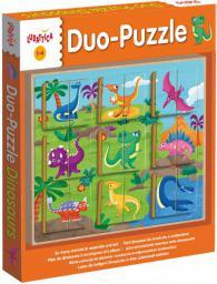 Dante Ludattica Puzzle Dinozaury - 304-49936
