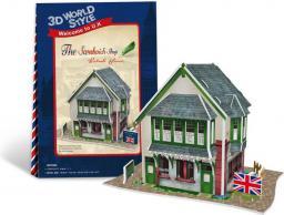 Dante Puzzle 3D Domki świata-Wielka Brytania Sandwich Sho - (306-23106)