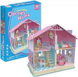 Dante Puzzle 3D Carrie's Home Domek dla lalek 160el. P645H 20679 DANTE - 306-20679