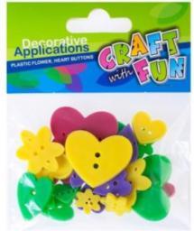 Craft with Fun Guziki mix - 304051