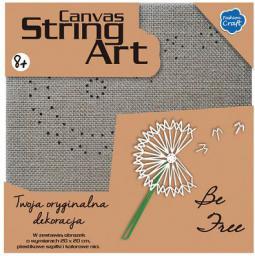 Stnux Obrazek String Art Dmuchawiec - STN-08-21