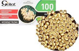 Lampki choinkowe Goliat na kabel białe ciepłe możliwość łączenia 100szt. (BS.LAMPK.H100G/BIAŁY)