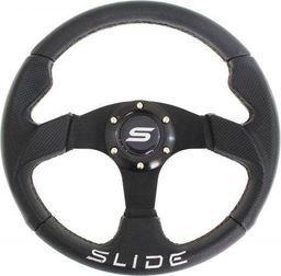 SLIDE_F Kierownica SLIDE 320mm offset:0mm Skóra Black