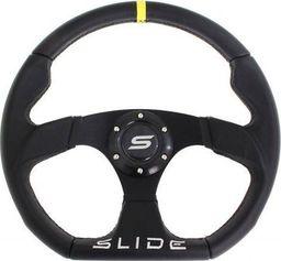 SLIDE_F Kierownica SLIDE 350mm offset:25mm Skóra Yellow