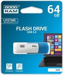 Pendrive GoodRam Goodram Flashdrive Colour 64GB (UCO2-0640MXR11)
