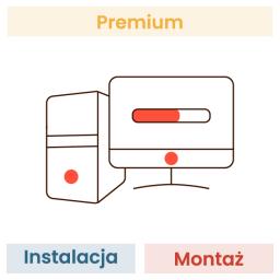Montaż + Instalacja systemu operacyjnego (dotyczy wszystkich podzespołów w koszyku)
