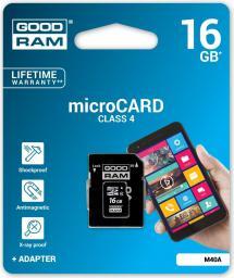 Karta MicroSD GoodRam 16GB (M40A-0160R11)