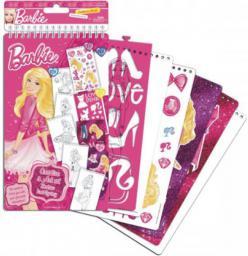 Starpak Zestaw szablonów Barbie - 311103