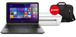 Laptop Hewlett-Packard 250 G4 (M9T03EA) + Urządzenie Wielofunkcyjne + Torba