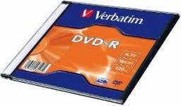 Verbatim Verbatim DVD-R [ slim jewel case 20| 4,7GB | 16x ] (43547)