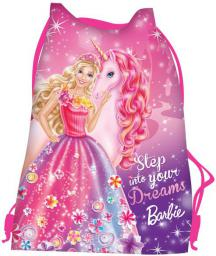 St. Majewski Worek na obuwie Barbie różowy