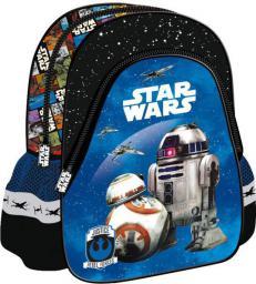 MAJEWSKI Plecak szkolno-wycieczkowy Star Wars Epizod VII niebieski