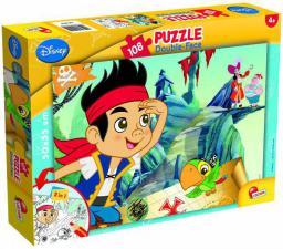 Lisciani Puzzle dwustronne Plus 108el Jake i Piraci 304-52059