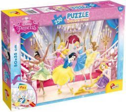 Lisciani Puzzle Do kolorowania Dwustronne Princess 250 elementów (304-48083)