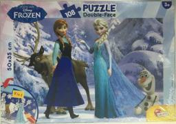Lisciani Puzzle dwustronne Plus 108el Frozen V2 - 304-52097