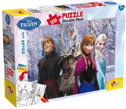 Lisciani Puzzle dwustronne 108el Frozen 49301 (304-49301)