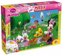 Lisciani Puzzle dwustronne 250el Minnie Mouse 48090 (304-48090)
