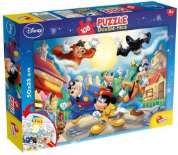 Lisciani Puzzle dwustronne 108el Mickey Mouse 48021 (304-48021)