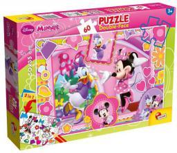 Lisciani Puzzle Do kolorowania Dwustronne Minnie 60 elementów (304-47918)