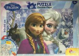 Lisciani Puzzle dwustronne Plus 60el Frozen V2 304-52080