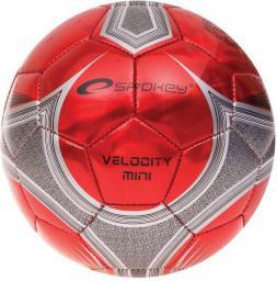 Spokey Piłka nożna VELOCITY MINI czerwona r. 2 (835923)