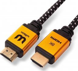 Kabel Wilson HDMI - HDMI 2m złoty (HDMI2.0M)