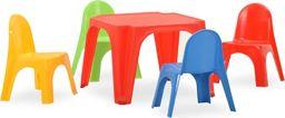 vidaXL Stolik i krzesełka dla dzieci, polipropylen