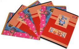Unipap Zeszyt 16 kartek, A5  kratka,  nielaminowany
