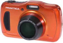 Aparat cyfrowy Praktica Wodoodporny WP240, Pomarańczowy (wp240pom)