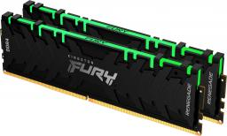 Pamięć Kingston Fury Renegade RGB, DDR4, 16 GB, 3600MHz, CL16 (KF436C16RBAK2/16)