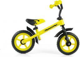 Milly Mally Rowerek biegowy Dragon żółty