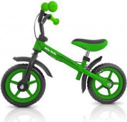 Milly Mally Rowerek biegowy Dragon z hamulcem green - 5901761120301