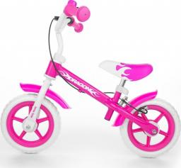Milly Mally Rowerek biegowy Dragon z hamulcem pink - Milly DragHaPink